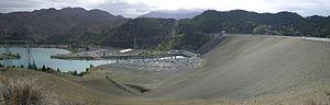 Benmore Dam - Image: Benmore Dam Pano (22 03 08)