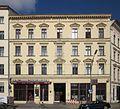 Berlin, Kreuzberg, Oranienplatz 5, Wohnhaus.jpg