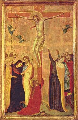 Bernardo Daddi - Crucifixion (1340–1345)