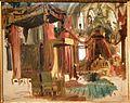 Bertalan Szekely coronation of Franz Josef I in matthias church 1867 IMG 0247.JPG