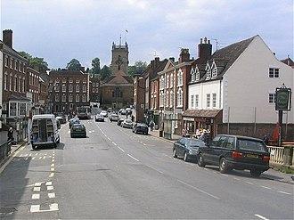 Bewdley - Image: Bewdley Load Street