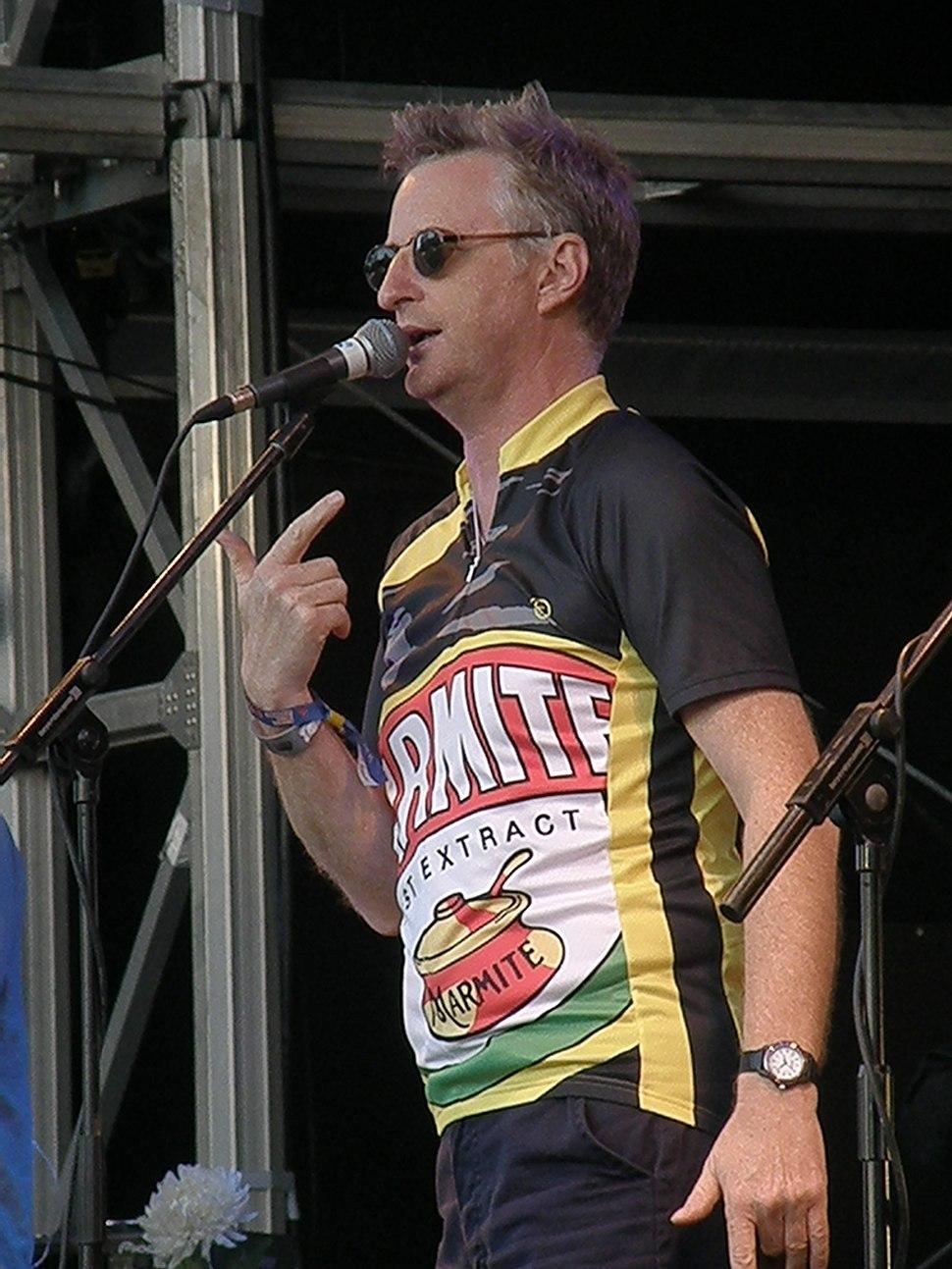 Billy Bragg at Bestival 2008
