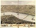 Bird's eye view of the city of Saint Charles, St. Charles Co., Missouri 1869. LOC 73693488.jpg