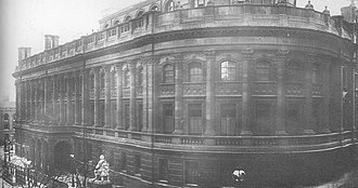 Birmingham Central Library - J. H. Chamberlain's rebuilt Central Library of 1882, demolished in 1974.