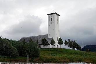 Bjerkvik - Image: Bjerkvik kirke