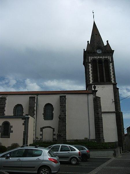 Blanzat's Church - Vertical picture