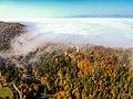 Blatnica Castle fogg.jpg