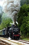 Bled Slovenie --CC-BY-SA-- Train a vapeur.jpg