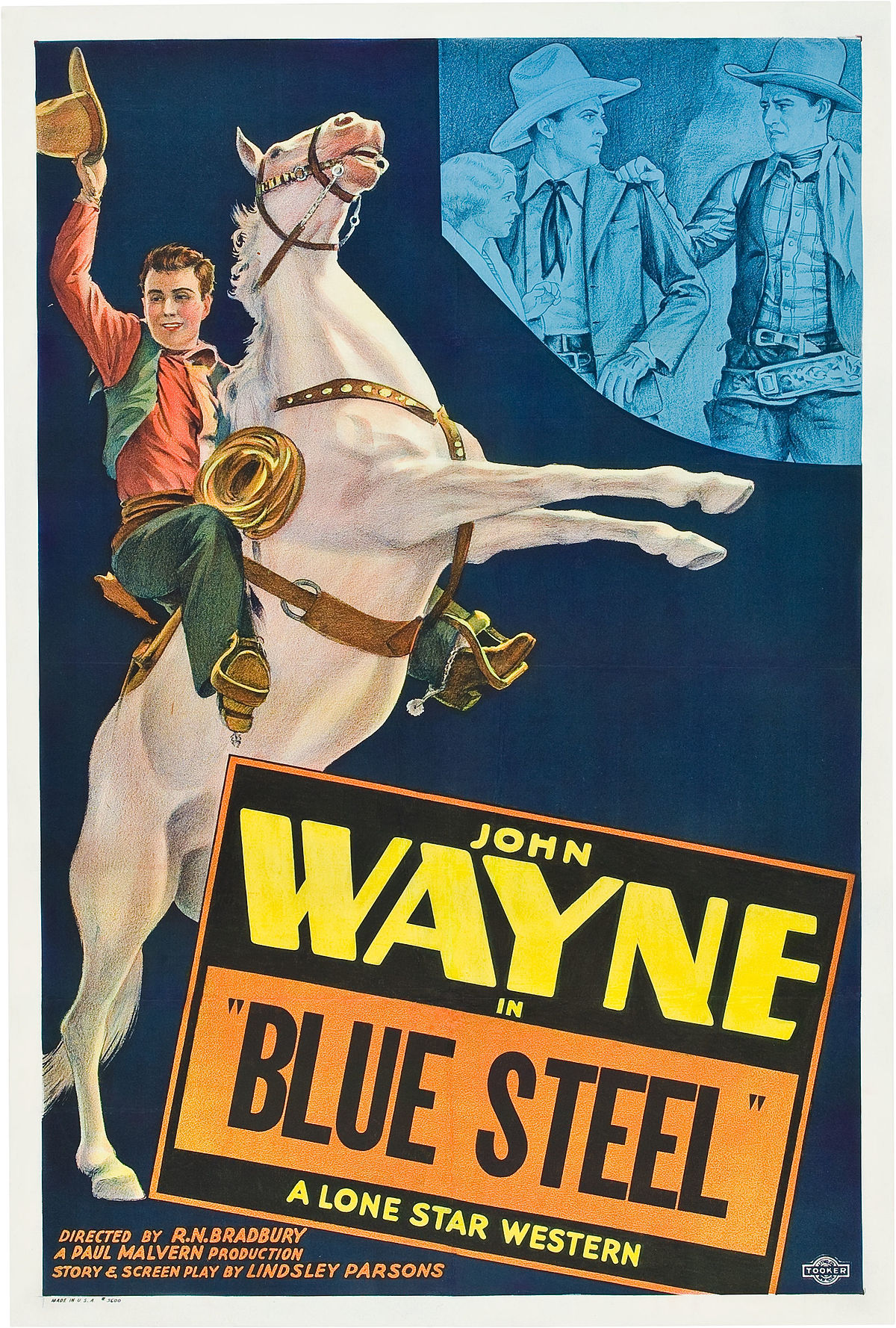 Blue Steel  1934 Film