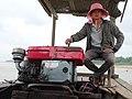 Boatsman en route from Koh Trong to Kratie - Kratie - Cambodia - 01 (48403376317).jpg