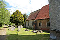 Bobbingworth, Essex, England - St Germain's Church exterior nave and chancel from the northwest.JPG