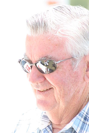 Bobby Allison - Allison at Bristol Motor Speedway in 2007