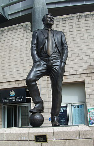 Bobby Robson - Statue outside St James Park, Newcastle
