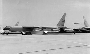 Columbus Air Force Base - Boeing B-52F AF Serial No. 57-0153
