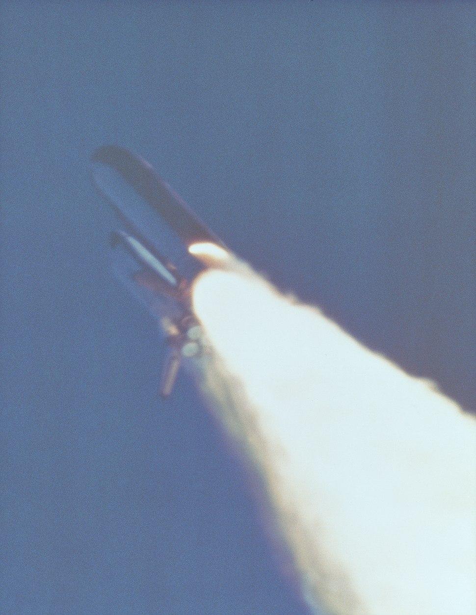 Booster Rocket Breach - GPN-2000-001425