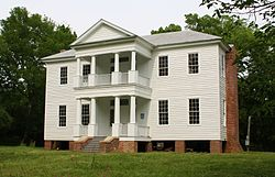 Borden Oaks Plantation House Front Facade.JPG