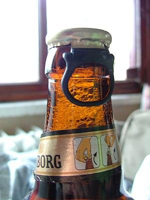 Beer bottle cap.