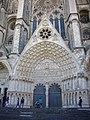 Bourges - cathédrale Saint-Étienne, façade ouest (04).jpg
