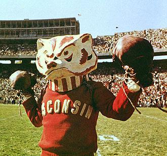 """Bucky Badger - """"Boxing Bucky"""", circa 1965"""