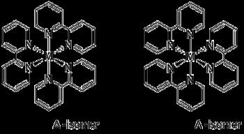 Enantiomere der Bipyridinkomplexe