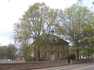 Brafferton (building) - The Brafferton, seen from Jamestown Road