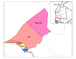 Departments of Mauritania - Departments of Brakna