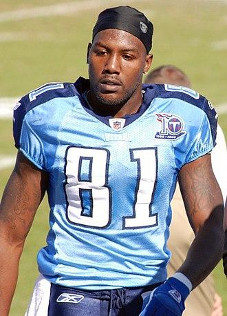 Brandon Jones (wide receiver) - Jones with the Titans in November 2008