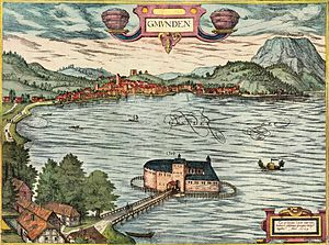 Gmunden - Gmunden in the 16th century