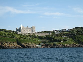 David and Frederick Barclay - The Barclay Brothers' castle, Brecqhou