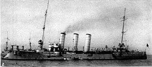 SMS Danzig - Image: Bremen class cruiser