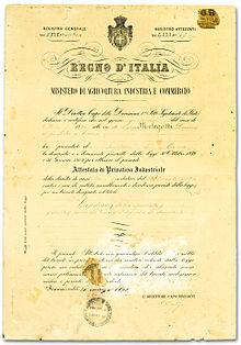 Brevetto invenzione Pandoro Melegatti
