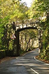 Bridge at Tan-y-Bwlch railway station (8304).jpg