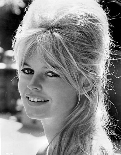 Brigitte Bardot, French model, actor, singer and animal rights activist