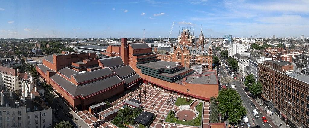 British Library + St Pancras 7527-31hug