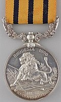 British South Africa Company Medal, reverse.jpg