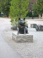 Bronsskulptur, Kungsängens centrum.jpg