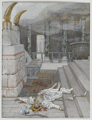 Zacharias Killed Between the Temple and the Altar