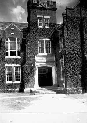 Fredric G. Levin College of Law - Nathan P. Bryan Hall, home of the College of Law from 1914 through 1969.