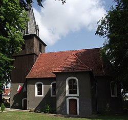 Church in Brzeźno