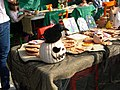 Bucuresti, Romania. Pumpkin Fest. Primul Festival de Halloween din Romania. Oct. 2019. Obiecte de Halloween.jpg