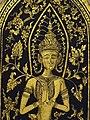 Buddha Figure on Decorative Door - Lanna Folklife Museum - Chiang Mai - Thailand (34293245444).jpg