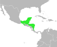 Bufo vacilleps distribution.svg