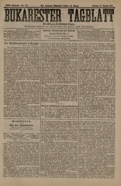 File:Bukarester Tagblatt 1911-08-11, nr. 178.pdf