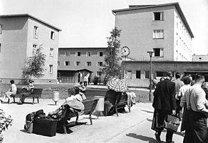 Marienfelde refugee transit camp - Marienfelde refugee camp, July 1958