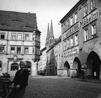 Görlitz - Görlitz, Untermarkt (1932)