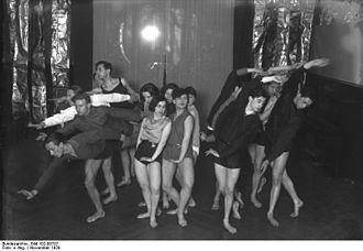 Rudolf von Laban - Laban's dance school in Berlin, 1929.