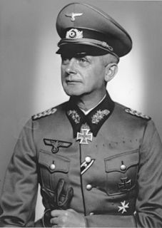 Ernst von Leyser German General der Infanterie during World War II