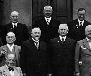 Friedrich Flick - Friedrich Flick (no. 3 from left, front)
