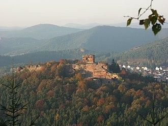 Drachenfels Castle (Wasgau) - Ruins of Drachenfels Castle