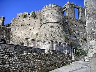 Squillace - Image: Burg von Squillace